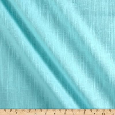 Slub Cotton Solid Duck Aqua