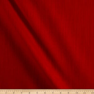 Slub Cotton Solid Duck Rhapsody Red