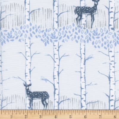 Cotton + Steel Frost Fawn Forest Neutral