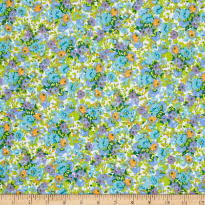 Easycare Broadcloth Camilla Blue