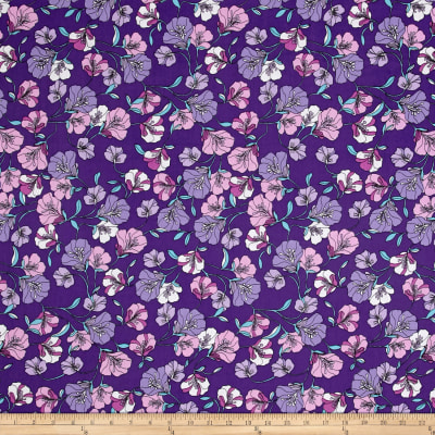 Easycare Broadcloth Morning Glory Lavender