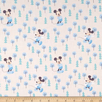 Mickey & Minnie Mouse Little Meadow Mickey In The Meadow Blue