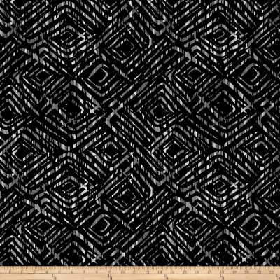 "Prismatic 108"" Wide Back Diamondesque Black"