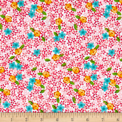 Roses & Arrows Ditsy Floral Pink