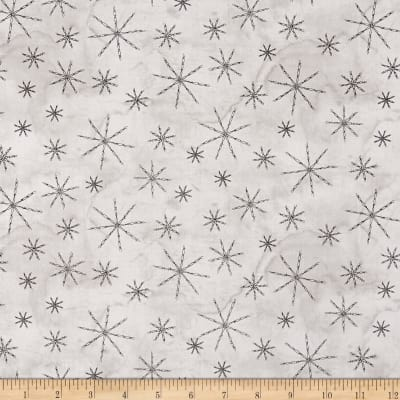 Western Greetings Barbed Wire Snowflake Light Gray
