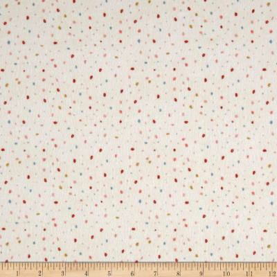 Dream Catcher'S Flannel Abstract Small Dot Cream/Multi