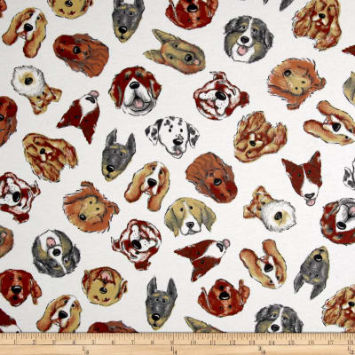Fabric Merchants Cotton Lycra Jersey Knit Dogs