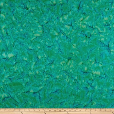 Wilmington Batiks Rock Candy Abstract Green