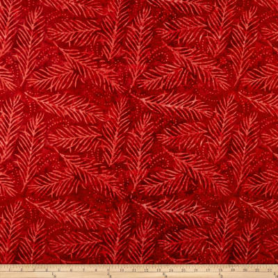 """Wilmington Essential 108"""" Backing Delicate Friends Red"""