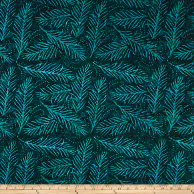 "Wilmington Essential 108"" Backing Delicate Friends Dark Green"