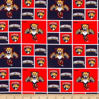NHL Broadcloth Florida Panthers