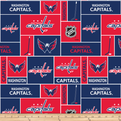 NHL Broadcloth Washington Capitals