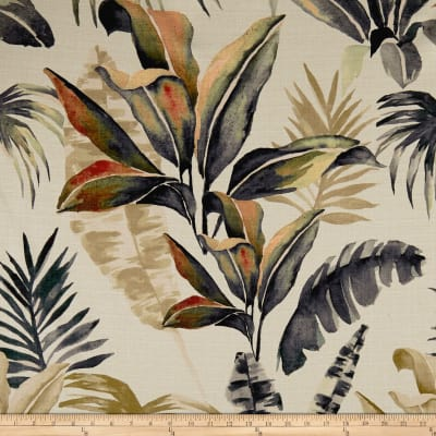 14 Karat Home Paradise Graphite Barkcloth