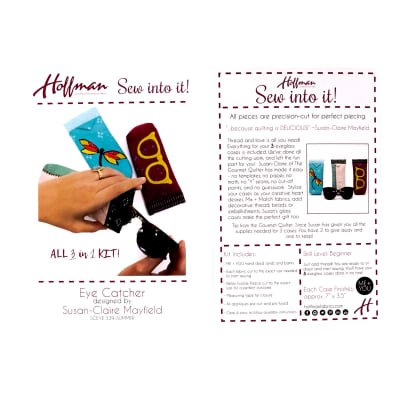 Hoffman Me + You Indah Batik Eye Catcher Kit Summer