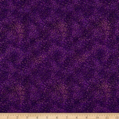 Romance Metallic Dots Purple