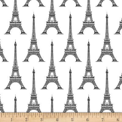 Love From Paris Eiffel Tower White