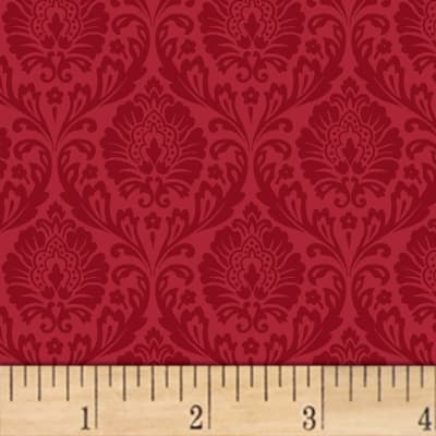 Love From Paris Damask Red