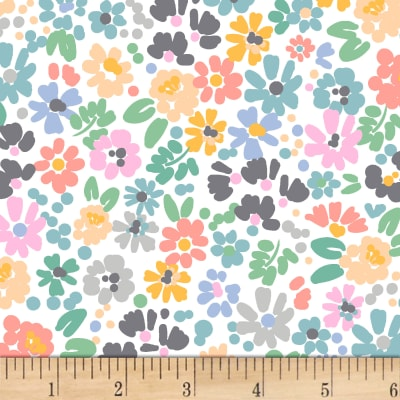 Dear Stella Catitude Flower Power White