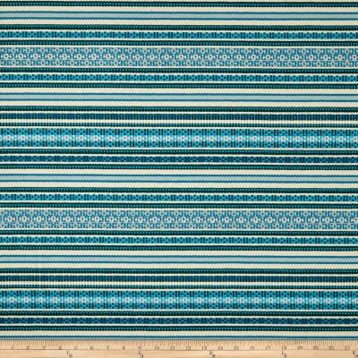 Duralee Brower Jacquard Blue/Turquoise