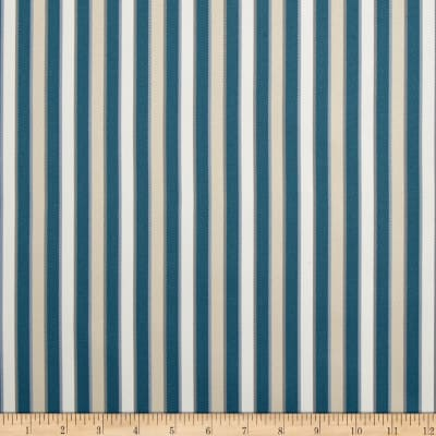 Duralee Outdoor DW16301 Stripe Seaglass Twill