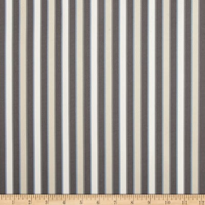 Duralee Outdoor DW16301 Stripe Grey Twill