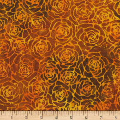 Anthology Batik Roses Amber