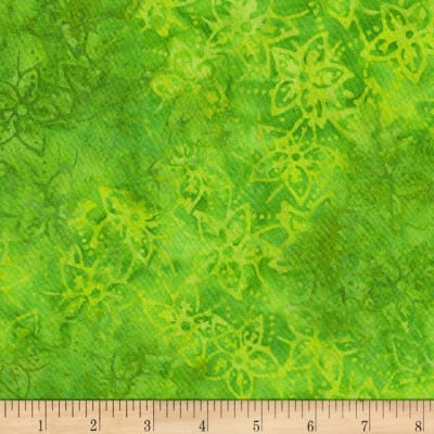 Anthology Batik Star flowers Matcha