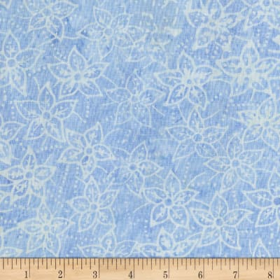 Anthology Batik Star flowers Cornflower