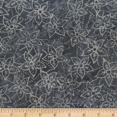 Anthology Batik Star flowers Pewter