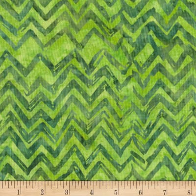 Anthology Batiks Chevron Matcha