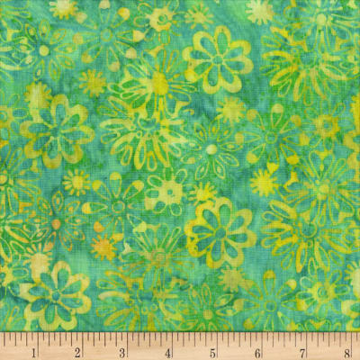 Anthology Batiks Wallflower Mint