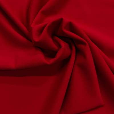 Pine Crest Fabrics Matte Tricot Guards Red