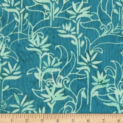 Anthology Batiks Rayon Challis Stalk Capri