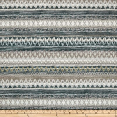 Springs Creative Southwestern Chenille Stripe Taupe