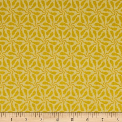 Andover/Makower Sundance Swirly Whirly Yellow