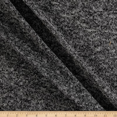 Runway Threads Sweater Knit Two Tone Black