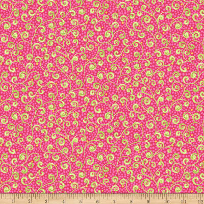 Ink & Arrow Aziza Scroll Pink