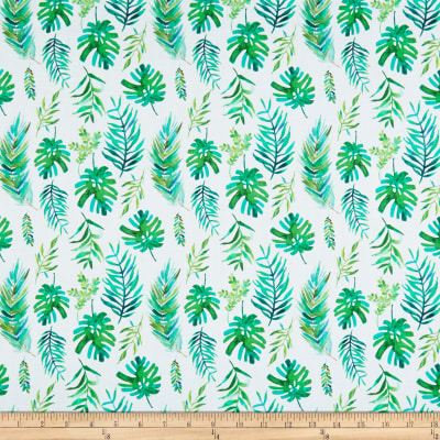 Tropicale Palm Fronds White