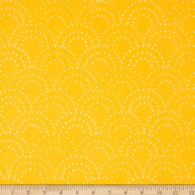 On Your Mark Scallop Doodles Daffodil