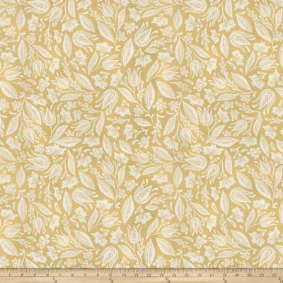 Miss Mustard Seed Bunnies, Birds & Bloom Leafed Out Mustard Seed Yellow