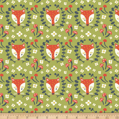 Birch Organic Folkland Foxy Grass Knit