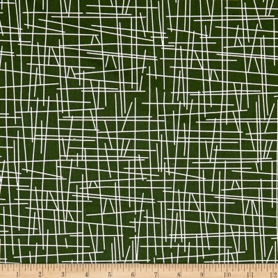 Andover Pick Up Sticks Forest Green