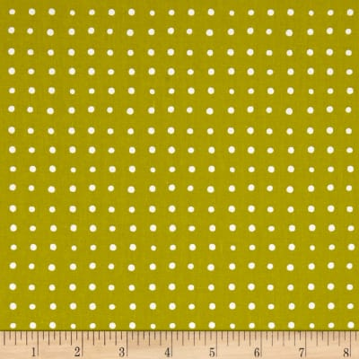 Andover Around Town Small Dots Mustard