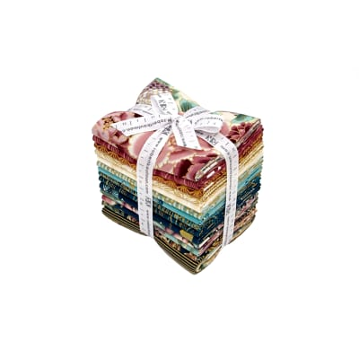 Kaufman Imperial Collection Fat Quarter Bundle Garden Metallic