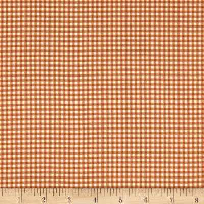 Andover/Makower Counting Sheep Gingham Brown
