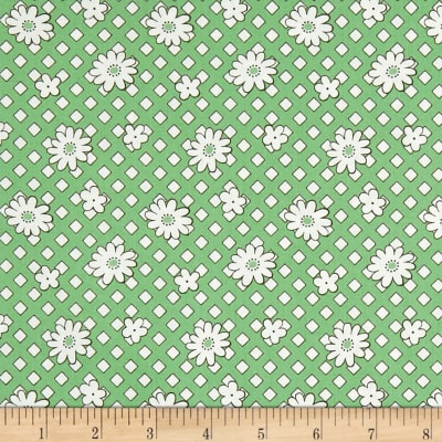 Andover Lottie Ruth Geo Floral Green