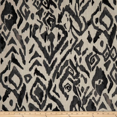 Lacefield Designs Animal Ikat Exclusive Smoke