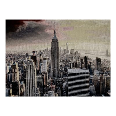 Photorealism Jacquard Wall Décor/Panel Empire State