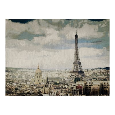Photorealism Jacquard Wall Décor/Panel Paris