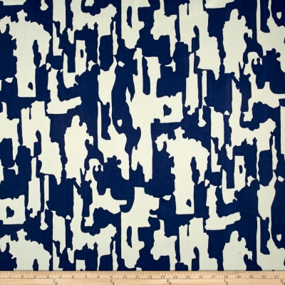 Schumacher Indoor/Outdoor Beauty Bark Print Ocean